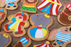 Cookies circus Royalty Free Stock Images