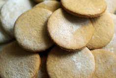 Cookies close-up Stock Photography