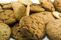 Cookies close-up Royalty Free Stock Photo