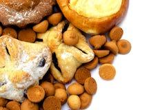 Cookies close up Royalty Free Stock Photos