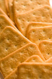 Cookies closeup with blurs Royalty Free Stock Images