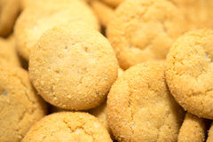 Cookies Closeup View Royalty Free Stock Image