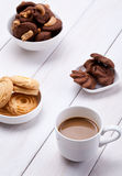 Cookies and coffee Stock Photography