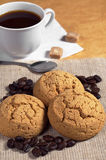 Cookies and coffee Royalty Free Stock Photo