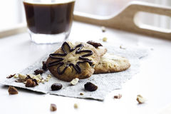 Cookies and coffee Royalty Free Stock Image