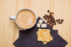 Cookies and coffee Royalty Free Stock Photos