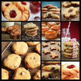 Cookies collage Royalty Free Stock Image