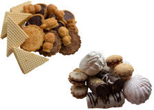 Cookies collection. Royalty Free Stock Photography