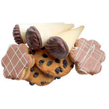 Cookies collection. Royalty Free Stock Photos