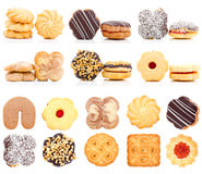 Cookies Collection Set Stock Images