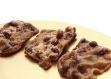 Cookies com amendoins Imagem de Stock