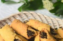 Cookies com doce do fruto Imagem de Stock Royalty Free