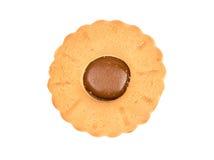 Cookies com leite condensado fotografia de stock royalty free
