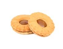 Cookies com leite condensado imagem de stock