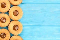 Cookies com leite condensado foto de stock royalty free