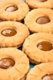 Cookies com leite condensado foto de stock