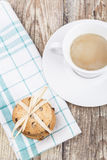 Cookies and Cooffee Royalty Free Stock Photos