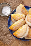 Cookies with cottage cheese Royalty Free Stock Photography