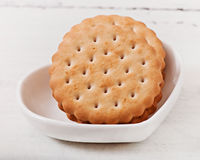 Cookies cozidas saborosos imagem de stock royalty free