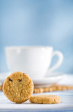 Cookies and cp Royalty Free Stock Photo