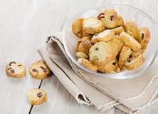 Cookies with cranberries Stock Image