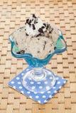 Cookies and cream ice cream Stock Image