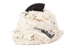 Cookies and cream ice cream Royalty Free Stock Photography