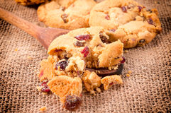 Cookies crumble Stock Photography
