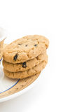 Cookies and cup Stock Photos