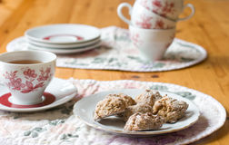 Cookies and a cup of tea Royalty Free Stock Photo