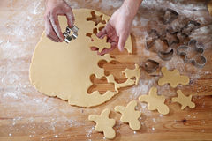 Cookies cutter forms Stock Photography