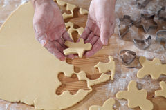 Cookies cutter forms Stock Photos