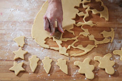 Cookies cutter forms Stock Image
