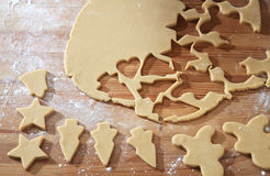 Cookies cutter forms Royalty Free Stock Photography
