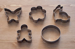 Cookies cutters Stock Photos