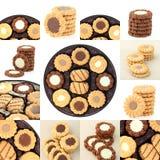 cookies da coleção Imagens de Stock Royalty Free