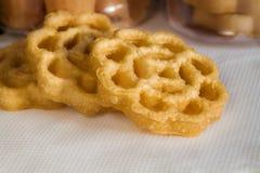 Cookies da colmeia Fotografia de Stock Royalty Free