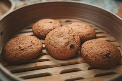 Cookies da microplaqueta Fotografia de Stock Royalty Free