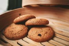 Cookies da microplaqueta Foto de Stock