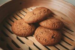 Cookies da microplaqueta Fotografia de Stock