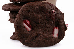 Cookies da pastilha de hortelã Fotografia de Stock Royalty Free
