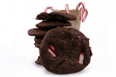 Cookies da pastilha de hortelã Imagens de Stock
