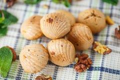 Cookies da porca Fotos de Stock Royalty Free