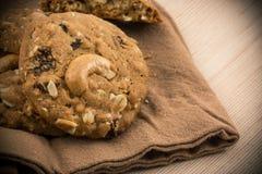 Cookies da porca de caju Imagem de Stock