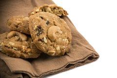 Cookies da porca de caju Fotos de Stock