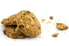 Cookies da porca de caju Fotografia de Stock