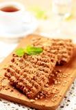 Cookies da porca e da semente Imagens de Stock Royalty Free