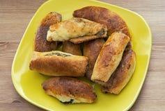 Cookies da semente da noz e de papoila Imagem de Stock