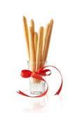 Cookies da vara do queijo Imagem de Stock