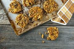 Cookies das grões Imagens de Stock